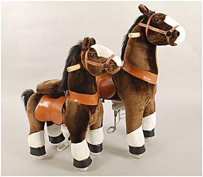 ratastega hobune pruun