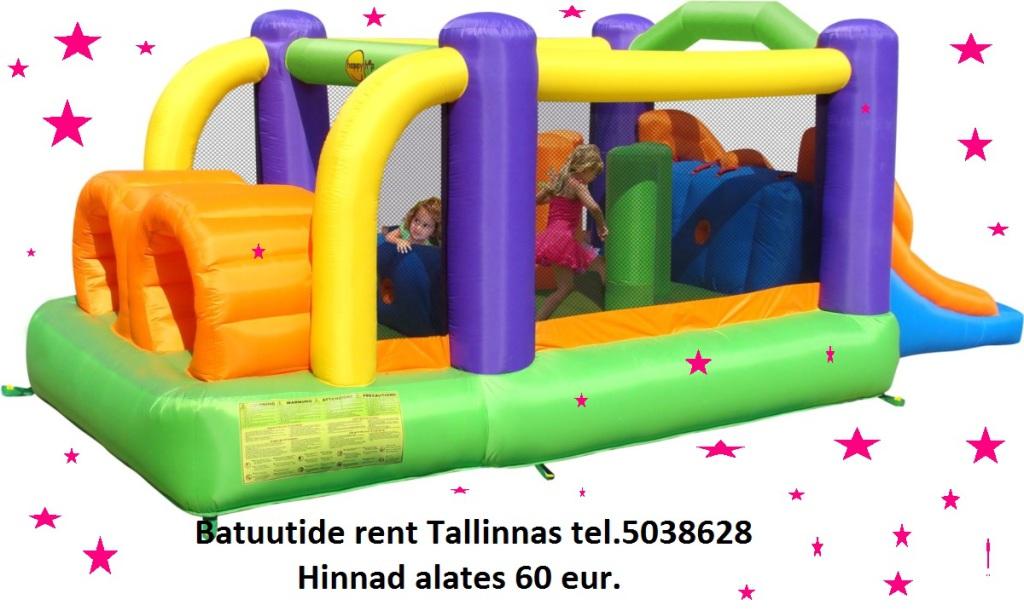 Batuutide rent Tallinnas